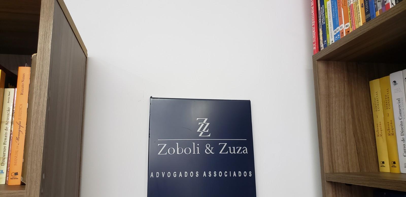 Placa Logo - Zoboli & Zuza